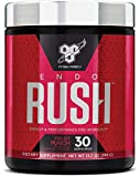 BSN Endorush Energy & Performance Pre-workout Powder With Creatine, 30 Servings, Fruit Punch