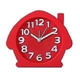 Kinderzimmer Schreibtisch Wecker Red House Clock