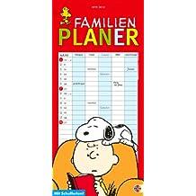 Peanuts Familienplaner 2010: Mit Schulferien. 5 Spalten