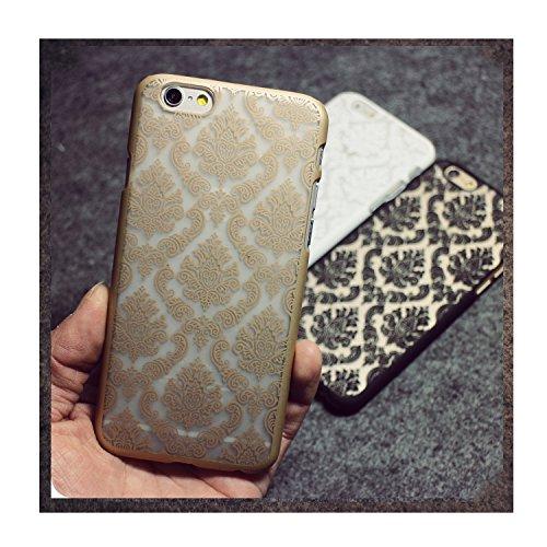 Nouvelle énergie © Damas Coque arrière rigide pour iPhone 6, 6S doré