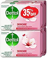 Dettol Skincare Anti-bacterial Bar Soap 165g Pack Of 4 At 35% Offe - Rose & Blo