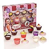 S&Li Cosmetics Cutie Cupcake 8 Piece Lipgloss Set