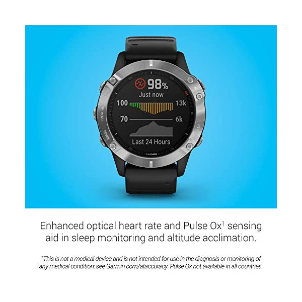 Garmin Fenix 6S Pro – Reloj inteligente con GPS para outdoor