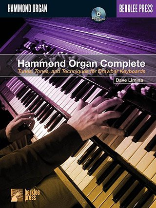 HAMMOND ORGAN COMPLETE - arrangiert für E-Orgel - mit CD [Noten / Sheetmusic] Komponist: LIMINA DAVE