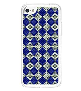 Fuson Premium Royal Pattern Metal Printed with Hard Plastic Back Case Cover for Apple iPhone 5C