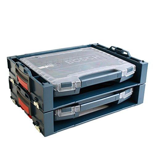 2x Bosch i-BOXX active Rack 1600A001SB + 2x i-Boxx 53 2608438063 1600A001RV passend zu L-Boxx 102/136 / 238/374