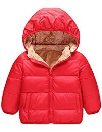 Abrigo de Plumas Chaquetas Traje de Nieve Parka para Bebés Chico Chaquetas Invierno para Niñas Niños