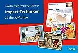 Impact-Techniken: 75 Therapiekarten. Kartenset mit 75 Karten und 36-seitigem Booklet.