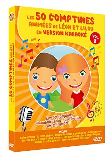 Les 50 comptines animées de léon et lilou en version karaoké, vol. 2 [FR Import]
