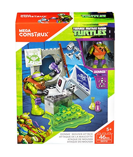 Mega Bloks DXY12 Teenage Mutant Ninja Turtles - Donnies
