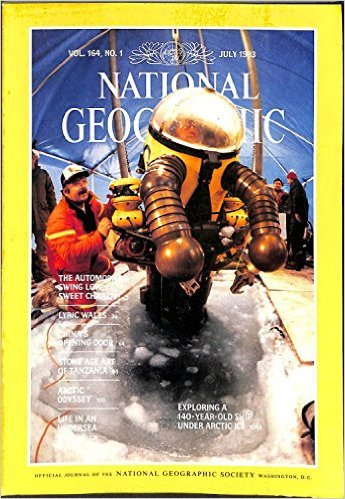 National Geographic Magazin (the national geographic magazine vol 164 no 1 July 1983)