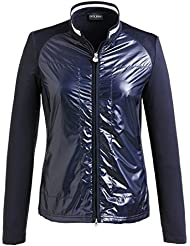 golfino Mujer Golf Chaqueta de polarlight Stretch en Slim Fit, primavera/verano, color azul marino, tamaño 42 (L)