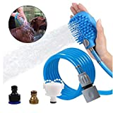Jlxl Haustier Dusche Baden Lieferungen Bürsten-Haar-Massage-Duschkopf-Artifact Automatische Handschuhe Bequem
