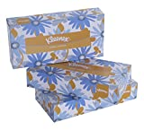 #10: Kleenex Facial Tissue Box, 100 Sheets per Box , 3 Box Combo, 60035 by Kimberly-Clark