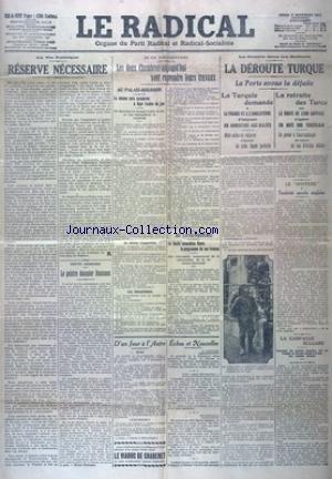 RADICAL (LE) du 05/11/1912