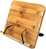 H&S® BamBoo Reading Rest Cookbook Cook Book Holder Stand Bookrest