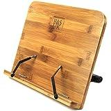 H&S® Lutrin de cuisine en bambou