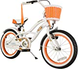 Bike * Star 40.6 cm (16 inch) Kids Children Girls Bike Bicycle Cruiser – Colour White