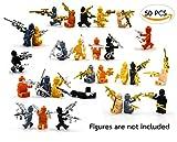 MAGMABRICK Magma Brick:LEGO MOC (mi propia creación) armas de oro y plata en la serie militar 50...