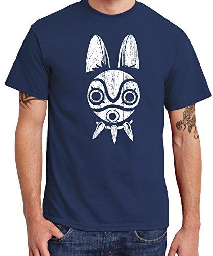 -- Sans Mask -- Boys T-Shirt Navy