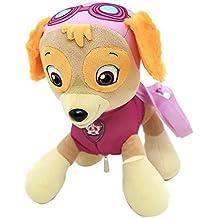 Patrulla Canina Skye para niños suave peluche mochila