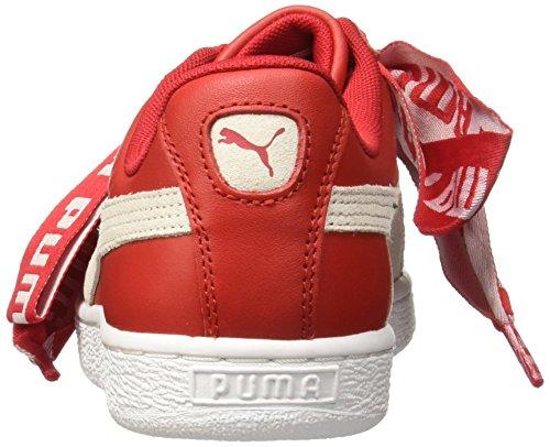 Puma Basket Heart Patent Wn's, Scarpe da Ginnastica Basse Donna ToRossoor