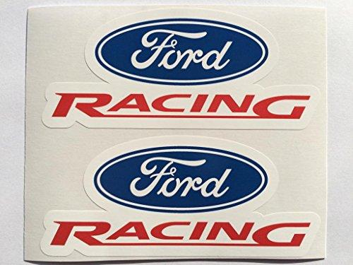 b4d74e4b37aa6c SBD Decals 2 Ford Racing Adhesivos de Corte con Troquel 6 Pulgadas