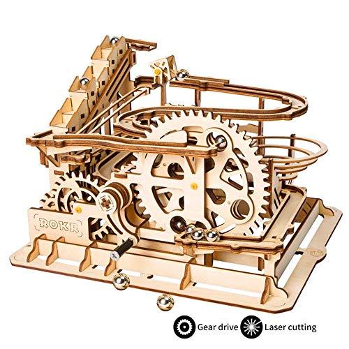 LABULA Holzpuzzle Bausatz 3D Puzzle Holzbausatz Mechanische Modell Mit Balls Brainteaser Für Kinder, Jugendliche Und Erwachsene