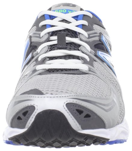 New Balance M580v3, Chaussures de Course Homme Silver with Blue