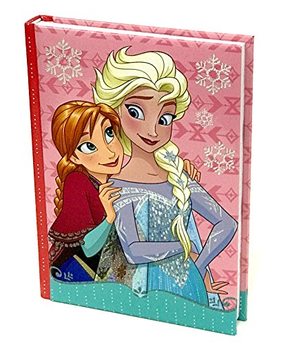 Disney frozen fz-ast5997_1 diario scuola, 10 mesi, non datato, 2 pagine adesivi, anna, elsa