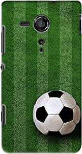 Kasemantra Kick Of Goal Case For Sony Xperia Sp