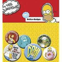GB eye LTD, The Simpsons, Homer, Pack de Chapas