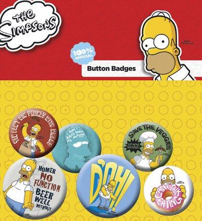 GB eye LTD, The Simpsons, Homer, Set di spille