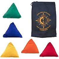 5 x Tri It Juggling Beanbags and Cascade Juggling Bag