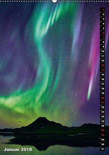 Island - Insel unter dem Nordlicht (Wandkalender 2018 DIN A2 hoch): Von den Papageientauchern bis zum Nordlicht - das schönste an Island in einem Kalender (Monatskalender, 14 Seiten ) (CALVENDO Natur): Alle Infos bei Amazon