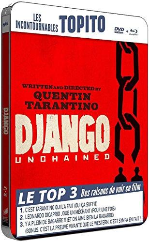 Django unchained - Boitier métal Collection TOPITO - Combo BD+DVD [Blu-ray + DVD - Édition boîtier métal FuturePak]