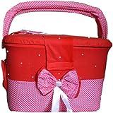 Fadi Baby Stuff Storage/Diaper Storage/Newborn Dress Storage/Kids Room Stuff Storage/Basket For Storage/Baby Gift/Personalized Basket/Cloth Organizer/Baby Stuff/Diaper Organizer