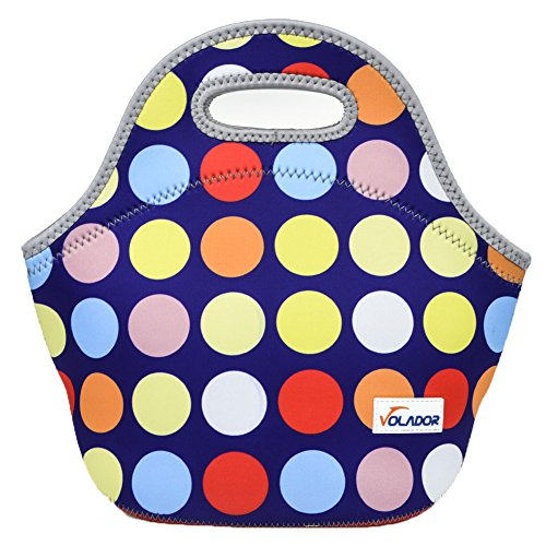 Volador Neoprene Cool Personalized Waterproof Insulated Lunch Bags Picnic Lunch Bag