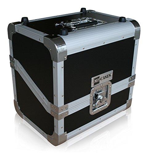 """Plattenkoffer für 80 LPs Case DJ Platten Schallplatte Flightcase 12"""" Box"""