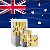 travSIM 4 GB Prepaid Data Sim Card with 30 Days Validity for Australia