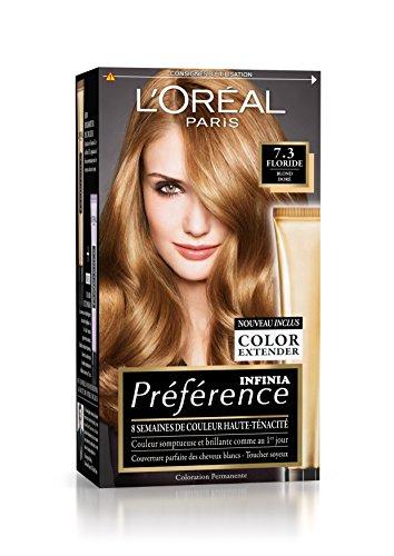 Préférence L'Oréal Paris Coloration Permanente 7.3 Blond Doré
