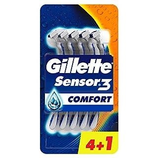 Gillette Einwegklingen Sensor 3, 5 Stück