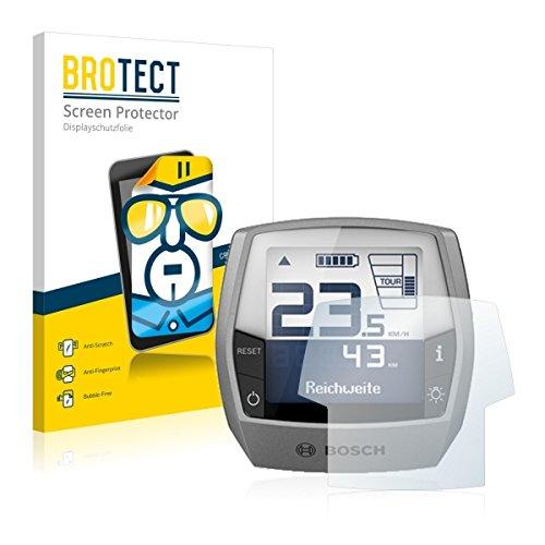 2X BROTECT HD Clear Displayschutz Schutzfolie für Bosch Intuvia Active Line (E-Bike Display) (kristallklar, extrem Kratzfest, schmutzabweisend)