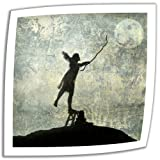 Art-Wall-Reach-for-The-Moon-14-by-14-Inch-Unwrapped-Canvas-Art-by-Elena-Ray-with-2-Inch-Accent-Border