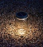 Dekorative Solar Light im Einmachglas mit Griff   Startseite Deco Beleuchtung Solarleuchte by RIVENBERT