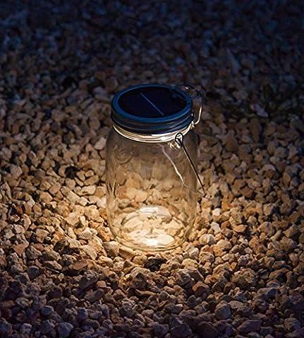 Dekorative Solar Light im Einmachglas mit Griff | Startseite Deco
