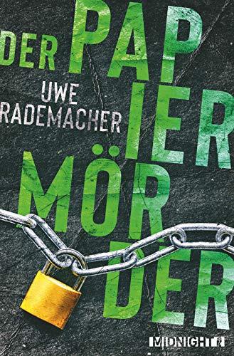 Buchseite und Rezensionen zu 'Der Papiermörder' von Uwe Rademacher
