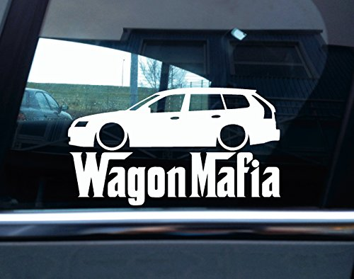 abbassato-wagon-mafia-auto-adesivo-base-saab-9-3-kombi
