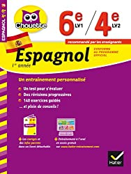 Espagnol 1re année 6e LV1 / 4e LV2: cahier de révision et d'entraînement