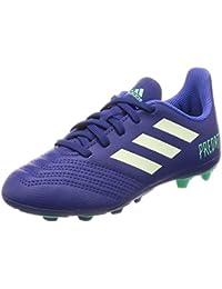9655594ba adidas Unisex Kids' Predator 18.4 FxG Jr Cp9242 Football Boots, Blue/Green